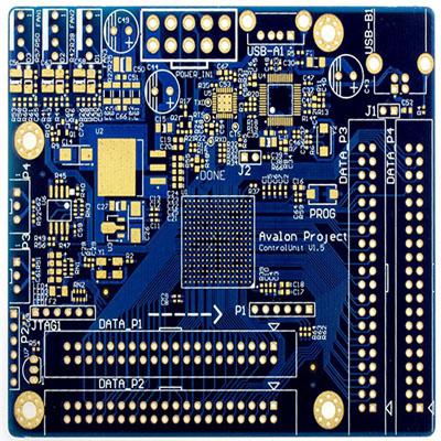 沉金板 6层 PCB