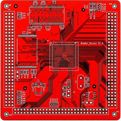 红油板 4层 PCB