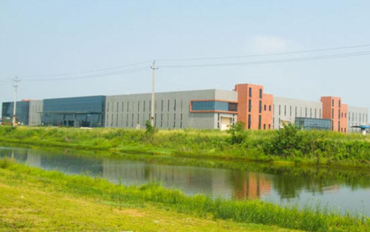 九江工厂侧面实拍图