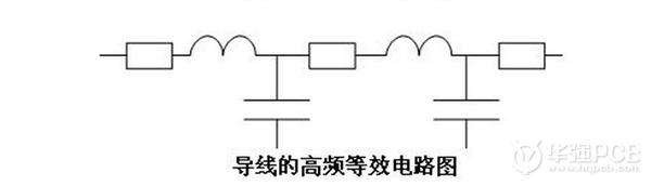 导线的高频等效电路图